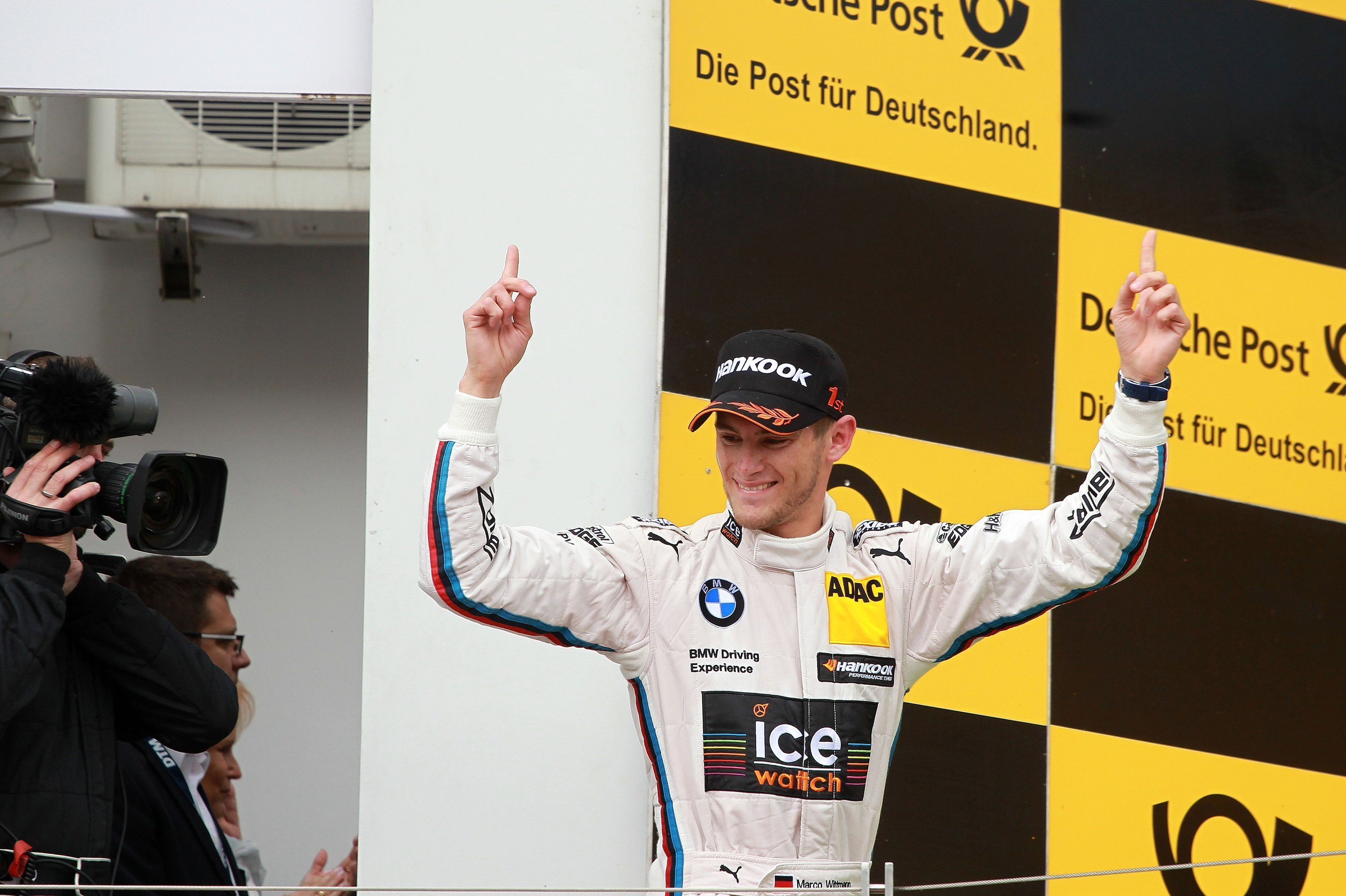 Budapest (HU) 01th June 2014. BMW Motorsport, Winner Marco Wittmann (DE) BMW Works Driver. This image is copyright free for editorial use © BMW AG (06/2014).