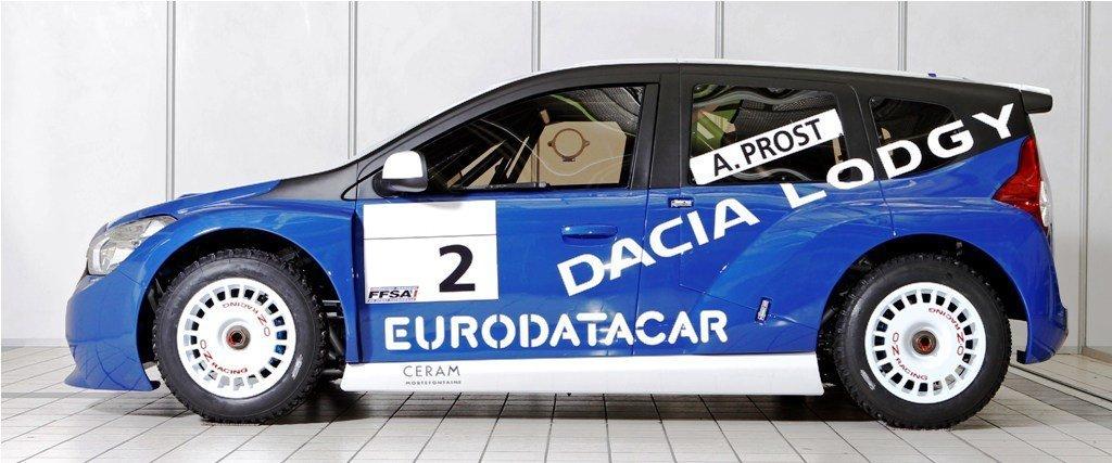 Team DACIA. Trophée Andros 2011-2012. Pilotes : Alain PROST. Nicolas PROST. Evens STIEVENART.  *** Local Caption *** _74C6161 DACIA - TORK - 20111111DAC0053015