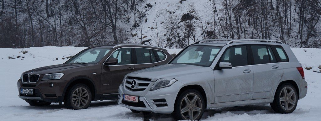 X3 vs GLK cover garajul.ro