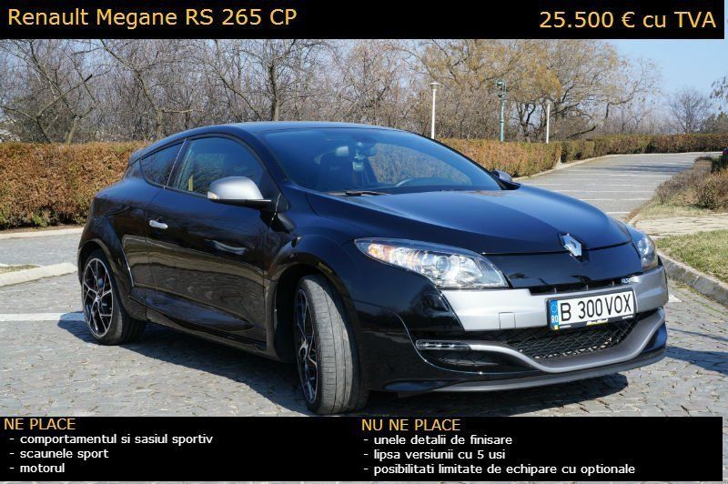 Front cover Megane RS