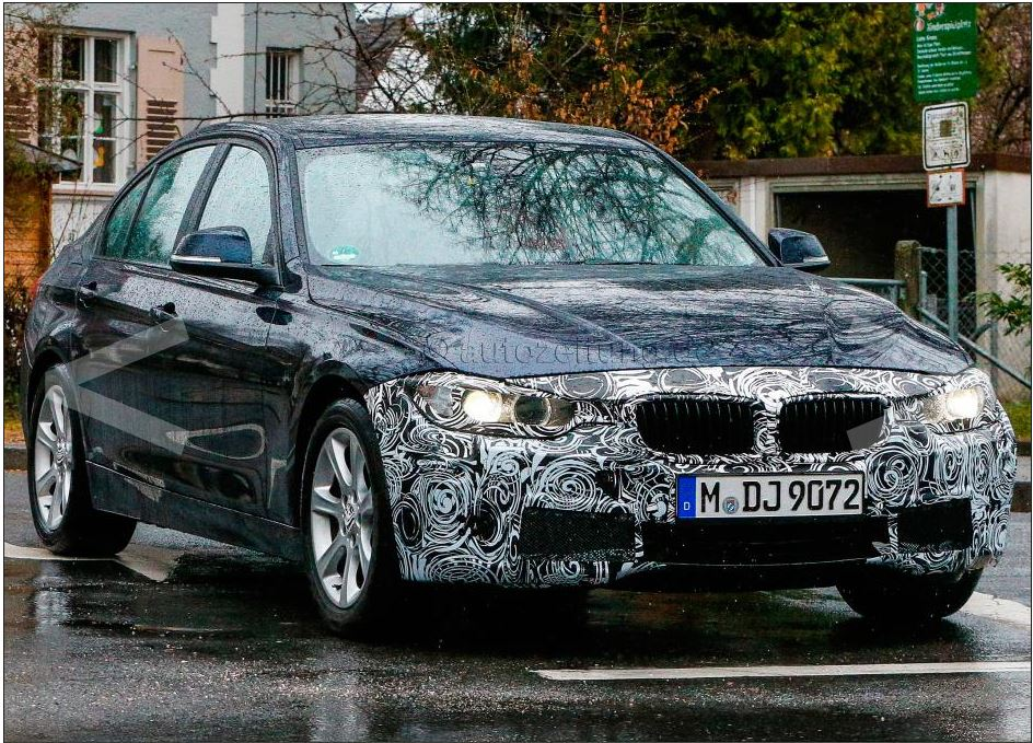 BMW 3 facelift 2015